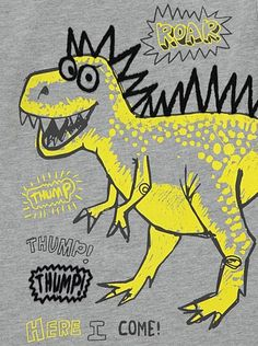Dinosaur Top, read reviews and buy online at George. Shop from our latest range in Kids. Update their everyday outfit with this roarsome dinosaur top. Create...