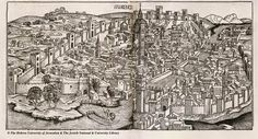 The city of Florence, 1493