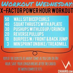 Power Hour Workout