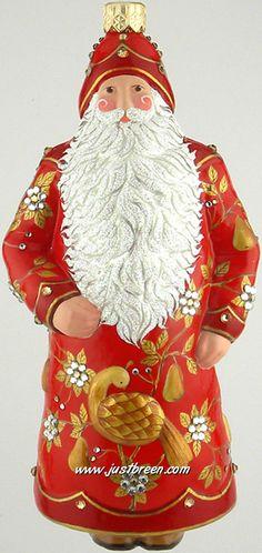 Festonne Claus :: Patricia Breen Ornaments