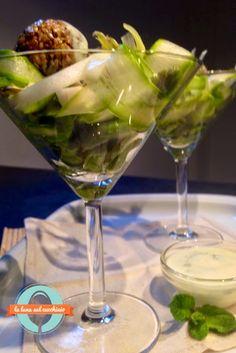 La luna sul cucchiaio: Insalatina di fave e asparagi crudi con polpettine...