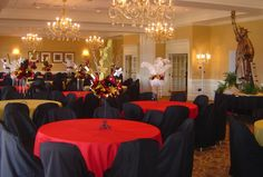O'Brien Productions - Black and Red - New York Theme Party. 770-422-7200
