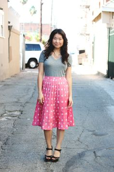 cute I really need to venture out and wear skirts even if I am not trying to go any where dressy