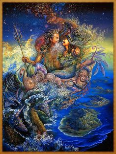 josephine wall paintings | Josephine Wall