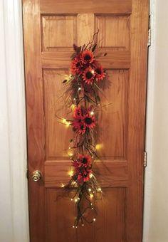 Forget wreaths -- this door hanger idea will charm your neighbors!