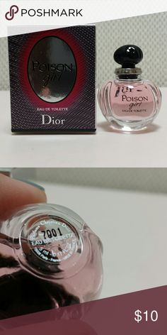 Travel Dior Poison Girl Eau de Toilette This is new and never opened.   No trades.   Please bundle Sephora Makeup