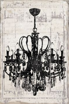 My sisters really cool new painting original chandelier clock my sisters really cool new painting original chandelier clock painting by angelabelz art ideas pinterest clock art chandeliers and clocks aloadofball Image collections
