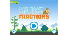 Super-fun slicing app presents key concepts in engaging way. Slice App, Math Fractions, Maths, Cycle 3, Challenge Me, Numeracy, Best Apps, Private School, Common Sense