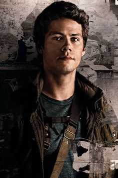 Dylan O'Brien - on the new poster of Maze Runner: The Death Cure
