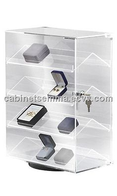 Two Tier Acrylic Shelf Retail Collectable Display Stand Black Perspex Step