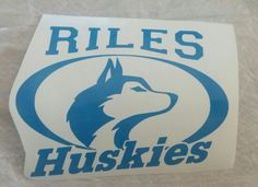 Wilson C Riles Middle School car decal    www.facebook.com/thequeenbeechic