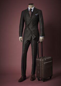 Modern Mens Fashion, Mens Fashion Suits, Look Fashion, Mens Suits, Fashion Outfits, Suit Men, Gentleman Mode, Gentleman Style, Dapper Gentleman