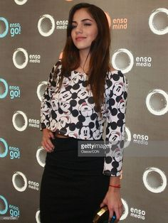 Ela Velden poses during the innauguration of the Enso Media new offices on november 11, 2013 in Mexico City, Mexico.