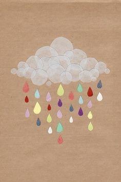 Sweet Rain iPhone Wallpaper 4