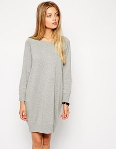 Enlarge ASOS Sweater Dress With Raglan Sleeve