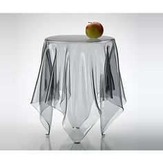 Ghostie Clear Side Table by The French Bedroom Company