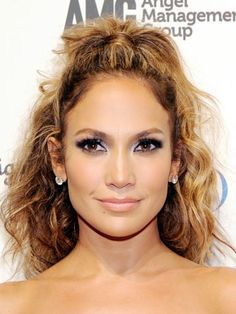 Chic Ponytails to Try at Every Height: High and Curly