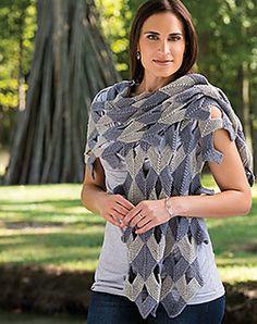 Domino Shawl by Edie Eckman in Creative Knitting