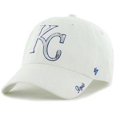 Kansas City Royals Women's Sparkle Clean Up Adjustable Cap by '47 Brand - MLB.com Shop