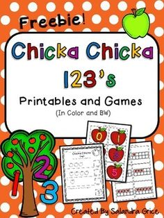 Number fun is on the way with these interactive number printables and games! Inside:Chicka Chicka Count- count the apples, write the number.Chicka Chicka More- determine which quantity has more.Chicka Chicka Missing Numbers- write the missing numbers from 0-10.Apple Number Match- apple themed numbers 0-5 with 0-5 ten frame matc...