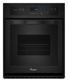 Whirlpool Self Cleaning Single Electric Wall Oven