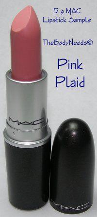 MAC Lip Stick Sample - Pink Plaid - Dirty Blue-Pink (Matte)  thebodyneeds.com  $3.79