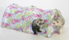 Marshall Ferret Cage Double Fun Play Tunnel Toy Flower