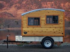 The Terrapin: Handmade wooden camper is a home of simplicity