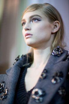 Aquilano.Rimondi Fall 2014 – Backstage – Vogue