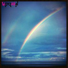Double rainbow, Poland