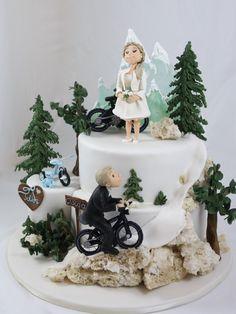 Hochzeit und so … – torteundmehr.at Baby Shower Favors Girl, Snow Globes, Birthday Cake, Cakes, Decor, Pictures, Cake Shop, Wedding, Birthday Cakes