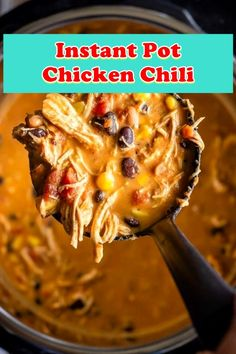 ★★★★★ 784 ★★★★★ Casserole Instant Pot Chicken Chili This immediate pot fowl chili is one of the easiest food to make and is the correct warming meal for a cold night.You can additionally. Chilli Recipes, Crockpot Recipes, Soup Recipes, Cooking Recipes, Healthy Recipes, Kebab Recipes, Recipies, Leftover Chicken Recipes, Chicken Thigh Recipes