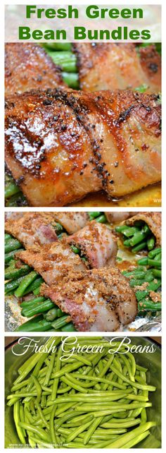 Fresh #Green Bean Bundles - Have you ever wrapped your green beans in bacon?…
