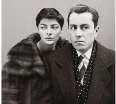 Bernard Buffet - Painter, and wife Annabel Buffet; Paris - 1959, Richard Avedon
