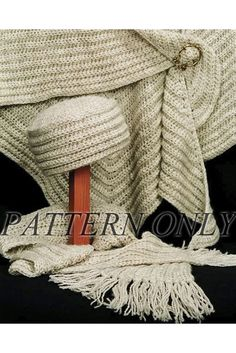 Winter Style Crocheted Accessories *Pattern*