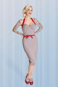 Anchors Pencil | Bettie Page Clothing