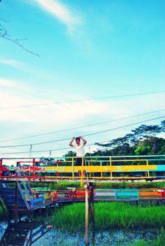 @Waduk Panji Suka Rame, Tenggarong - Klimantan Timur