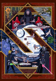 Jian Guo | Star Warsa new hopethe empire strikes backreturn of the jedithe force awakens