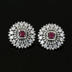 Buy Indian style earrings online varies from Indian jhumki style, north indian earrings and antique style earrings. Diamond Stud Earrings, Diamond Studs, Diamond Jewelry, Gold Jewelry, Women Friendship, Friendship Jewelry, Ear Jewelry, Jewlery, Bridal Jewelry Vintage