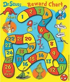 Dr. Seuss Classroom Reward Game