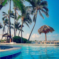 Relaxing day the pool. | Nassau, Bahamas