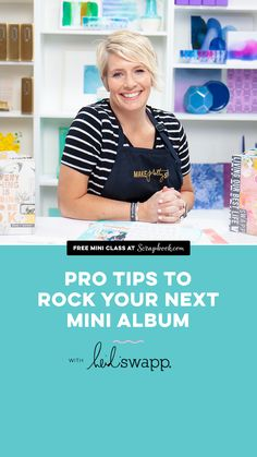 Pro Tips to Rock Your Next Mini Album with Heidi Swapp Whether you're a seasoned mini album maker looking for a fresh new idea or you're starting a brand new creative journey into memory keeping, this is the class for you! Join the unbelievably talented Heidi Swapp for this quick 3-lesson session on building a mini album and making it unique! Album Maker, School Auction, Bazaar Ideas, Great Schools, Heidi Swapp, School Gifts, Do It Yourself Home, Easy Gifts, Mini Albums