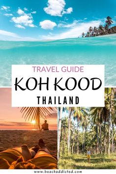 Koh Kood Island is one of our favorite islands in Thailand and there are many reasons why. Despite the fact that it is a very beautiful island, with white-sand beaches and turquoise warm water, it has something special and rare. Tranquility. Koh Kood is a very small island but you do not need to worry. There are so many awesome things to do in Koh Kood. And in this travel guide, we will tell you what you can do and see in Koh Kood. #kohkood#thailand#kohkoodbeach#thailandtravel#asia#kohkut