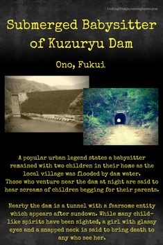 Submerged Babysitter and Children True Horror Stories, Spooky Stories, Sad Stories, Ghost Stories, Scary Legends, Legends And Myths, Paranormal Society, Paranormal Stories, Scary Places