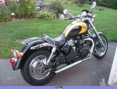 Top 10 bike IMHO.  2003 Triumph Speedmaster