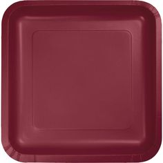 Pack of 180 Burgundy Premium Disposable Paper Party Lunch Plates 7 Red  sc 1 st  Pinterest & Tangerine Embossed Paper Dinner Plates | Discount Birthday Party ...