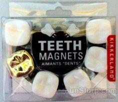 teeth magnets Are you studying for a Dental Assisting or DANB exam? Humor Dental, Dental Hygiene School, Dental Hygienist, Dental Implants, Dental Assistant Humor, Dental Surgery, Dental World, Dental Life, Dental Art