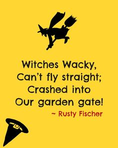 Witches Wacky... A Halloween poem