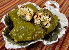 Grape Leaves Stuffed with Lentils and Rice | recipe from FatFree Vegan Kitchen