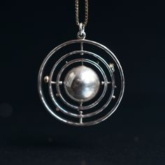 Kinetic solar system jewelry - Boing Boing